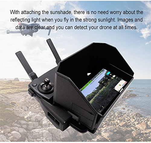 Mavic Air Spark RC Drone di controllo remoto Sun Hood per DJI Mavic PRO