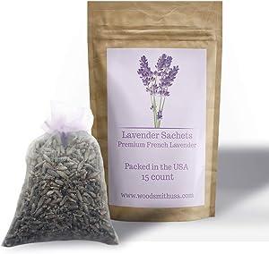 Lavender Sachets |15 Pack| Lavender Sachet Color | Sachets Lavender | Lavender Scented Sachets | Lavender Drawer Sachets