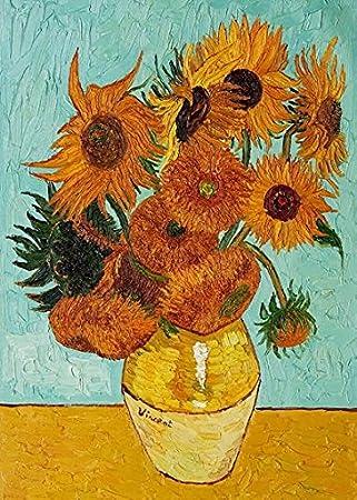 Amazonde Wieco Art Sonnenblumen Von Vincent Van Gogh öl Gemälde