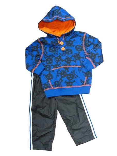 Amazon.com: healthtex Infant bebé Boys azul cráneo calavera ...