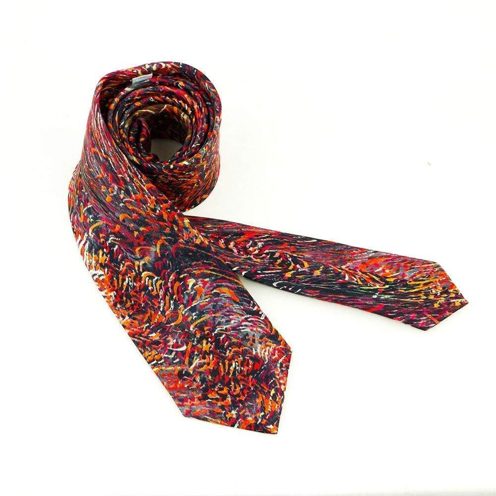 Corbata alegre en rojo y negro, Regalo para hombre y complemento ...
