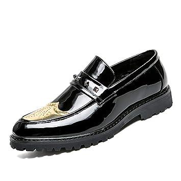 Hommes Oxford Pour Verni Cuir Chaussures Business uOikPXZ
