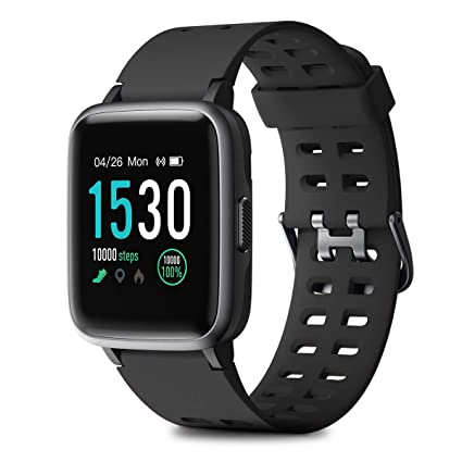 HOMVILLA Montre Connectée, Smartwatch Bracelet Connecté Cardio Etanche IP68 Montre Intelligente Cardiofrequencemetre Podometre Homme Femme Enfant ...