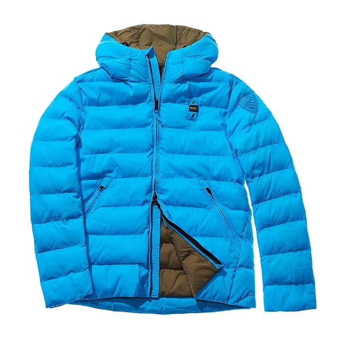 Blauer - Chaqueta - para Hombre Azul Turquesa L: Amazon.es ...