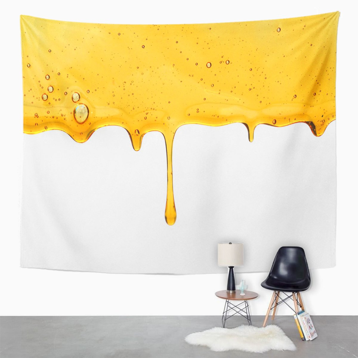Amazon.com: TOMPOP Tapestry Drip Honey Wooden Dripping Dipper Liquid ...