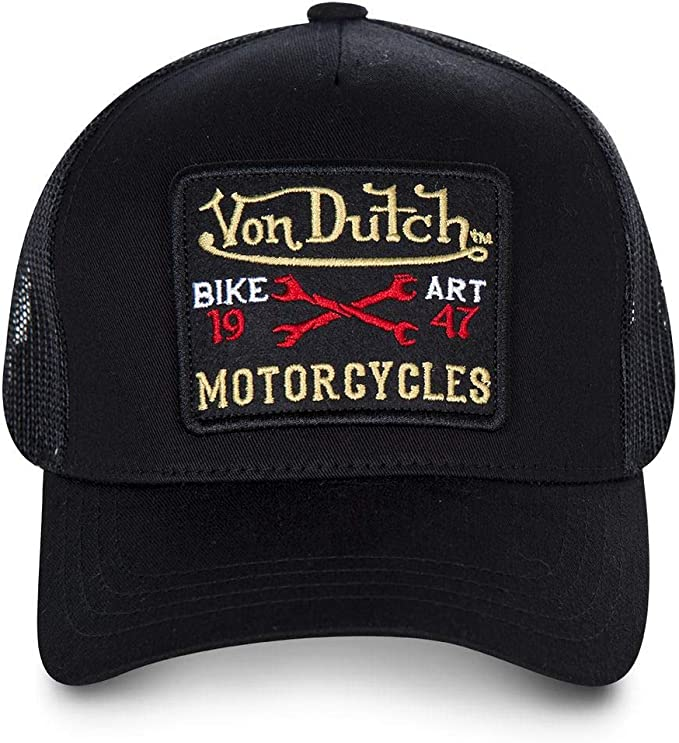 Von Dutch - Gorra BLACKY2B - Negro, U: Amazon.es: Ropa y accesorios