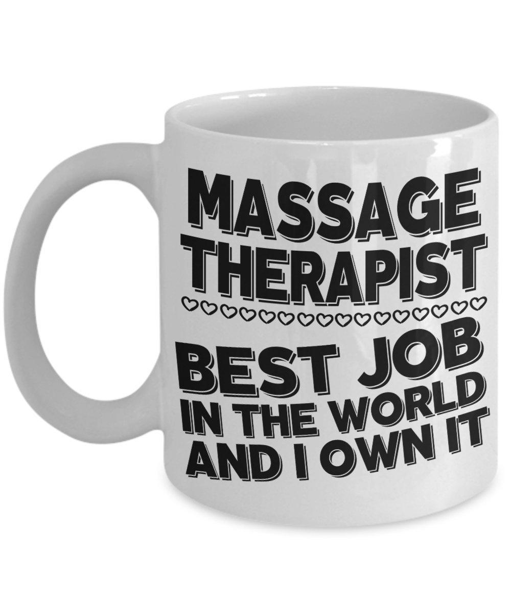 Massage Therapist Coffee Mug | Mugs are Fun Gifts for Massaging Therapists Masseuses Birthday Appreciation Coworker Retirement Christmas Gift