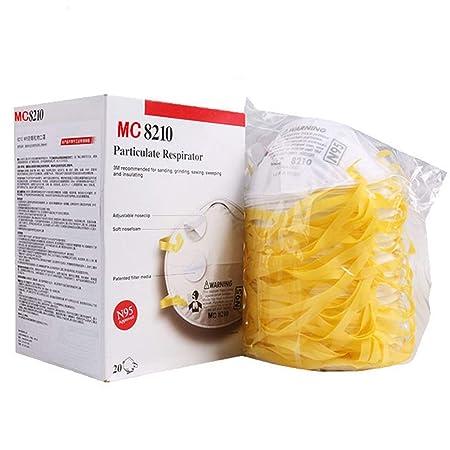 CZSM Máscara para el polvo-20 Paquete Respiradores de partículas ...
