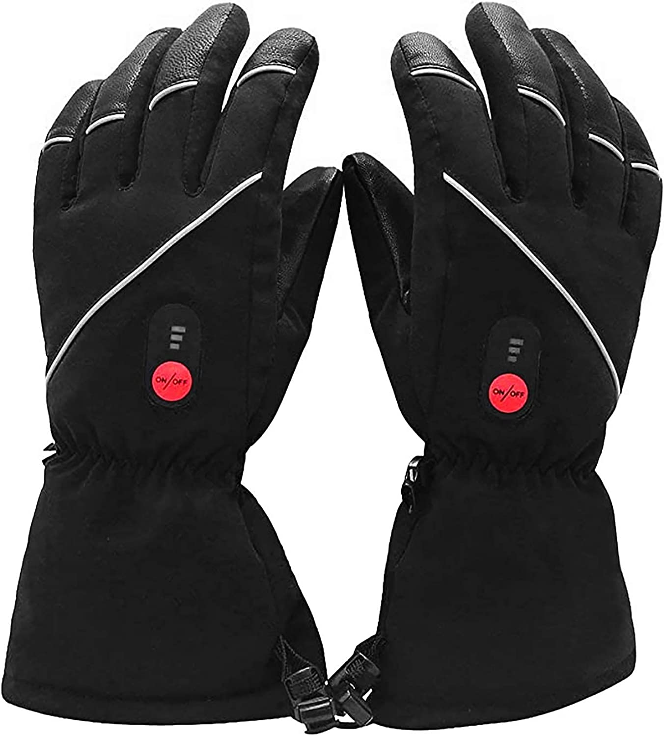 Savior Heated Gloves for Men Women, Electric Heated Gloves,Heated Skiing Gloves and Snowboarding Gloves