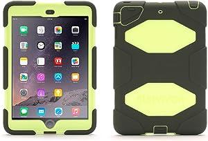 DRP-GB362792 Olive/Lime Survivor All-Terrain Case for iPad Mini, iPad Mini 2, & iPad Mini 3