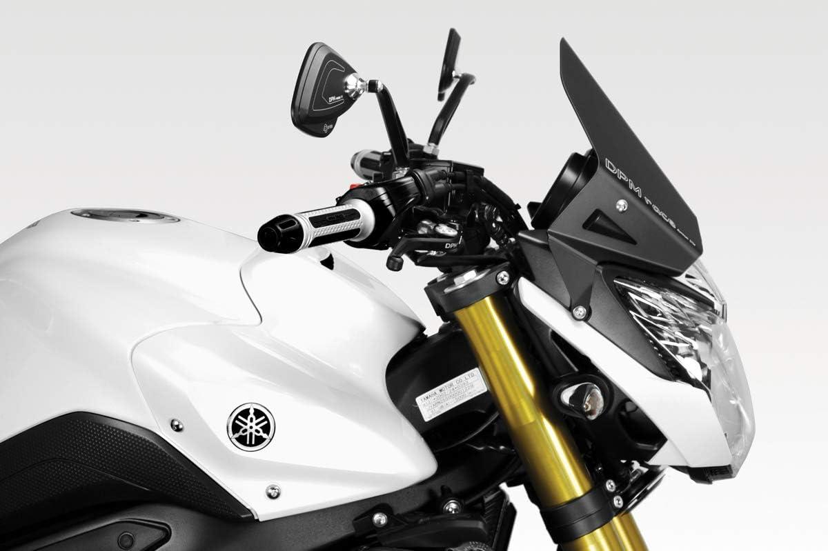 - 100/% Made in Italy Hardware-Bolzen Enthalten Windschutzscheibe Warrior R-0680 Motorradzubeh/ör De Pretto Moto DPM Race FZ8 2010//15 - Aluminium Windschild Windabweiser Scheibe