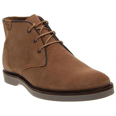 Lacoste Men's Sherbrooke Hi 14 Light Tan Boot 8 M