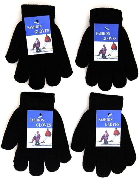 Baby Gloves 12 Pair Boy Girl Children Age 3 to 7 Warm Gloves Costume Gloves