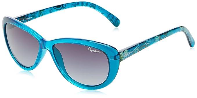 Pepe Jeans - Gafas de sol Mariposa Fancy para niñas, Blue ...