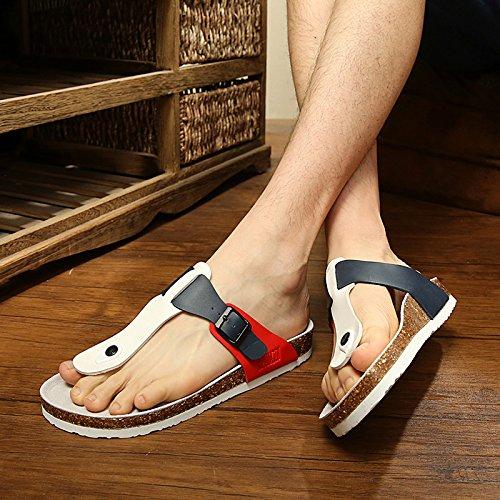 Fankou Männer Sind im Sommer Kühl und Student Lounge Hausschuhe Frauen Paare Schuhe für Frauen 46 N