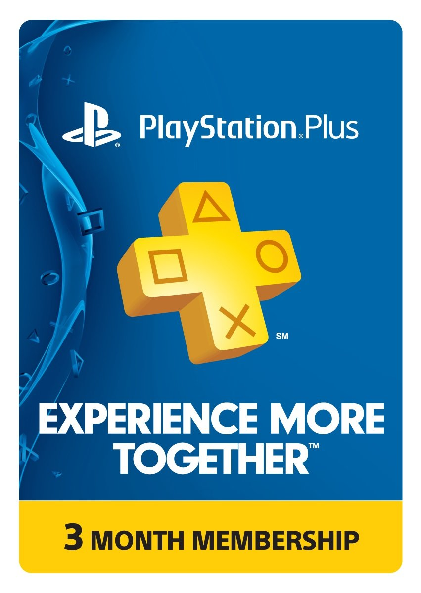 Sony - Playstation Plus 3 Month Membership