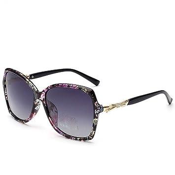 WKAIJC Grüner Leopard Polarisiert Auch UV Elegant Dame Fahrer Sonnenbrillen Sonnenbrillen,C