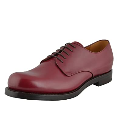 Amazoncom Gucci Mens Cherry Red Lace Up Oxfords Dress