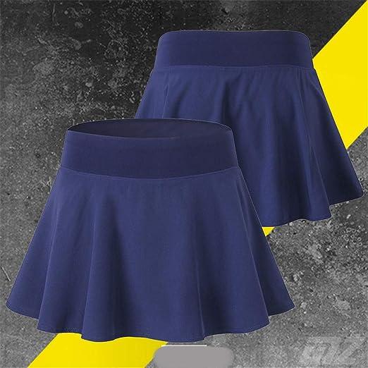 Hoverwin - Falda de Tenis para Mujer, Minifalda, Secado ...
