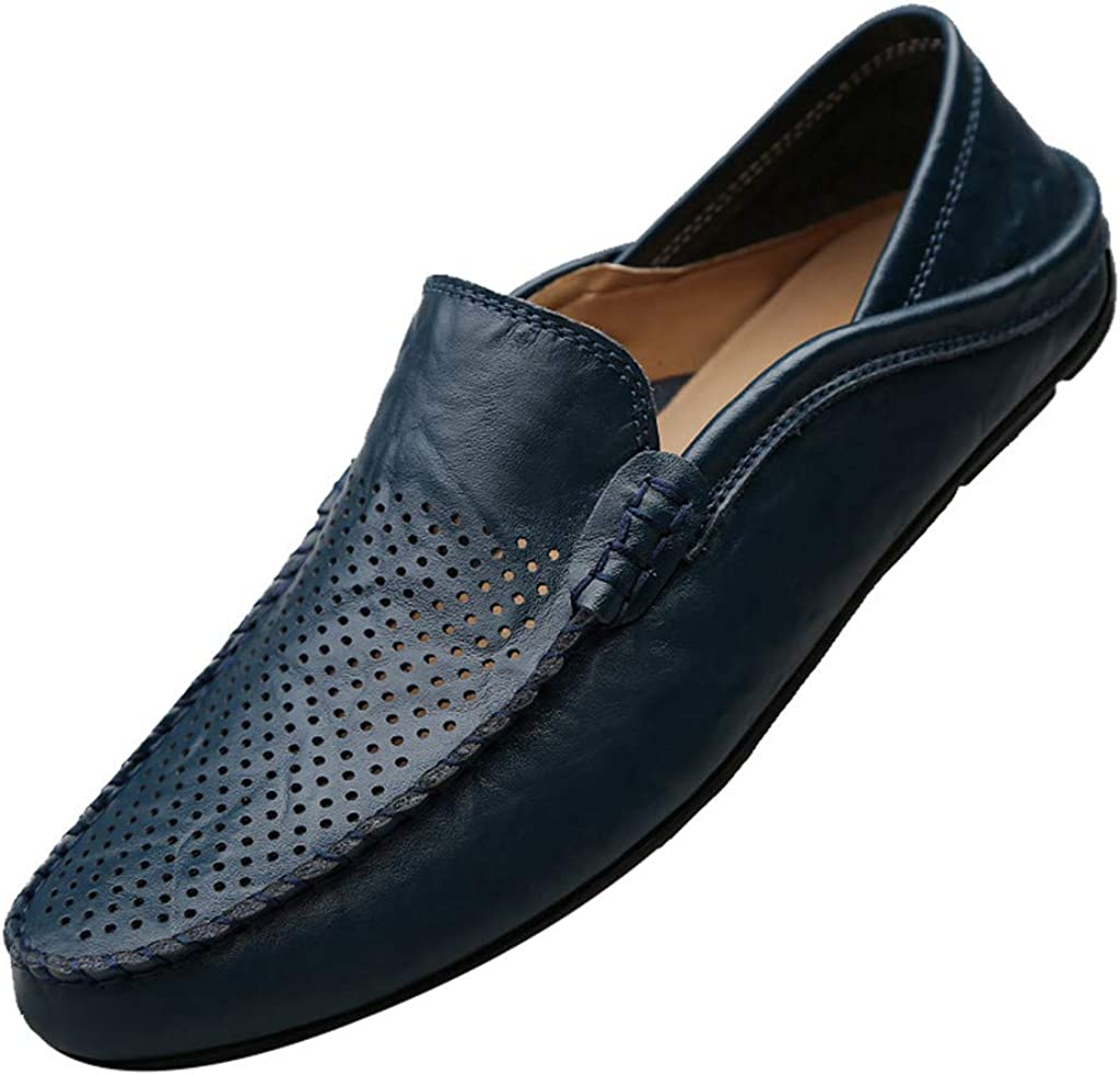 /Ét/é Hommes Mocassins Creux Casual Chaussures de Conduite /Él/égantes Chaussures Mocassins Classiques 38-47