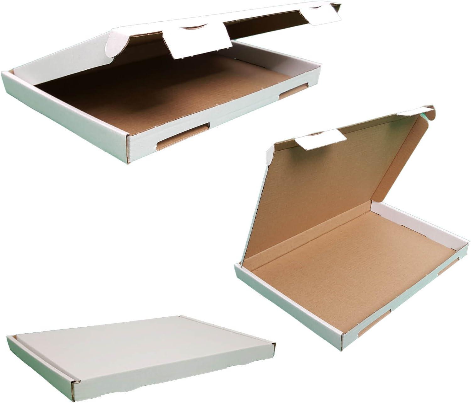 Braun verpacking 200 Gro/ßbriefkartons Versandkartons 165 x 125 x 20 mm GB-0