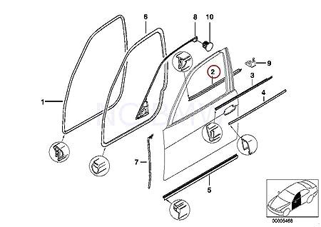 Amazon Com Bmw Genuine Interior Left Front Moulding Automotive