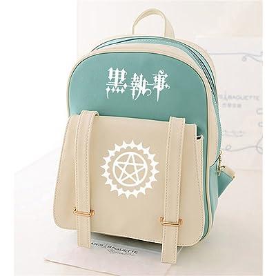 YOYOSHome Japanese Anime Cosplay PU Daypack Shoulder Bag Backpack School Bag
