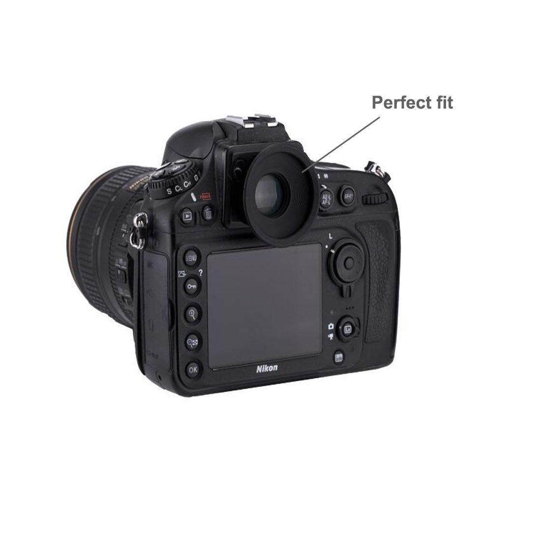HomyWord 2 piezas ocular / visor para Nikon D810 D800 D810A D800E ...