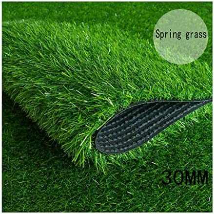 XEWNEG 屋外の人工芝カーペット、暗号化されたシミュレーション緑の芝生、庭の家族の結婚式のパーティーの装飾に適した、簡単にカット (Size : 2x2.5M)