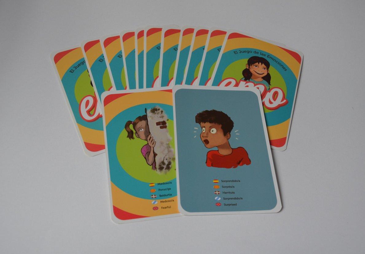 Mut Kids- EMO El Juego de Las Emociones, Color Rojo, 9 x ...