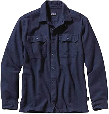 Patagonia Ms L/S Fjord Flannel Camisa, Hombre