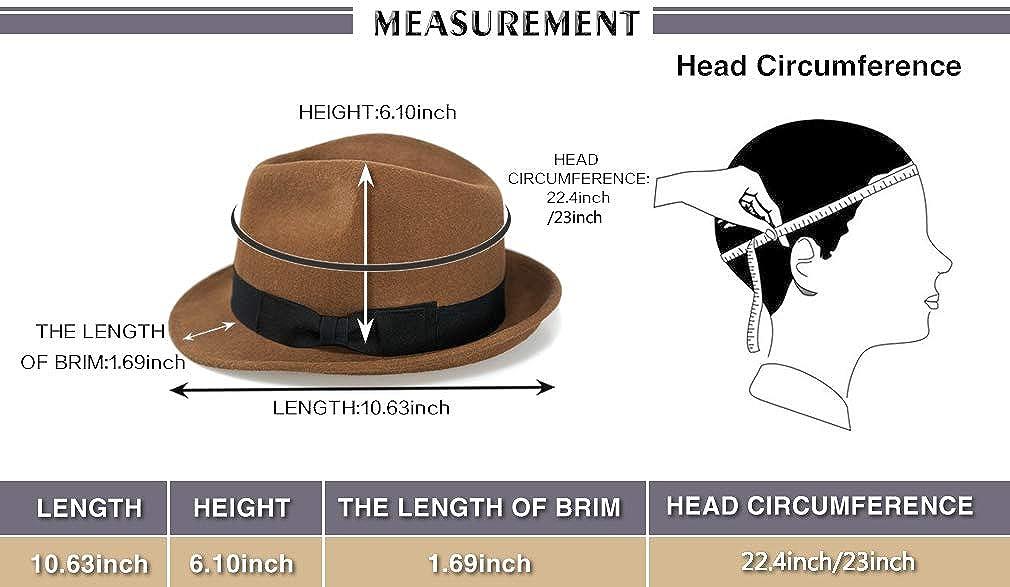 Product description. Elegant Cosy Fashion Trilby Hat Wool Felt Panama Fedora 67712379c7