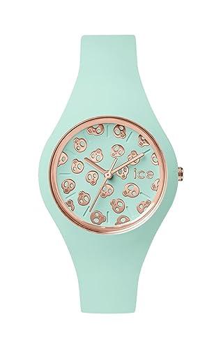Ice-Watch - ICE skull Luminous mint - Reloj verde para Mujer con Correa de