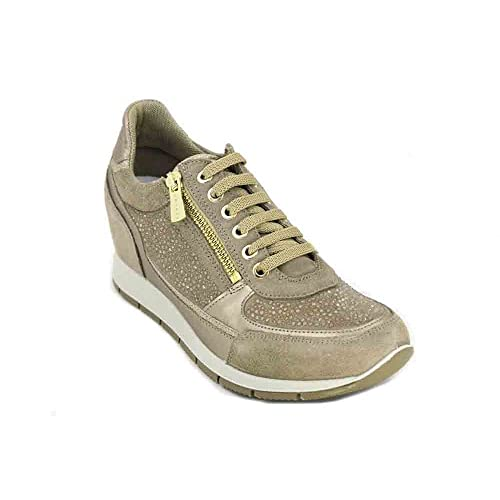 best authentic 980d2 8a2db IGI&CO Scarpe Donna Sneakers Basse con Zeppa Interna 1157922 ...