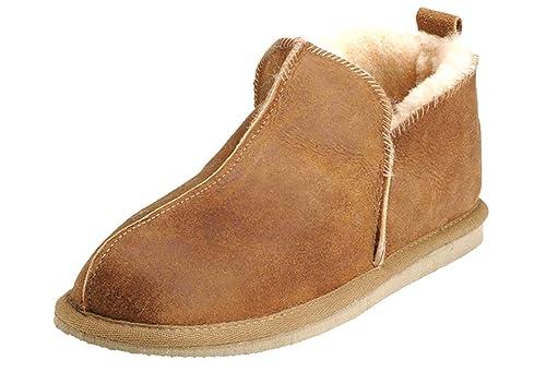 b6c9bc3da2a Shepherd of Sweden Womens Luxury Slip on Sheepskin Slippers (6.5 UK ...