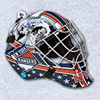 Mike Richter New York Rangers Autographed Franklin SX Comp GFM Goalie Mask - Autographed NHL Helmets and Masks