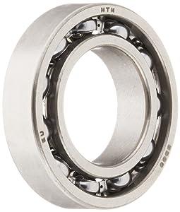 NTN Bearing 6903 Single Row Deep Groove Radial Ball Bearing, Normal Clearance, Steel Cage, 17 mm Bore ID, 30 mm OD, 7 mm Width, Open