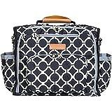 Bateman Convertible Designer Baby Diaper Bag ( 17x8x11 inch ) with Changing Mat ( 25x31 inch)