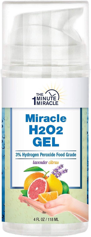 Hydrogen Peroxide Food Grade, Citrus Oils and Lavender - Hand SANITIZER Gel