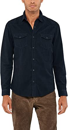 Salsa Camisa fit Regular de Pana: Amazon.es: Ropa y accesorios