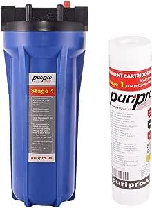 PuriPro Puri-Aqua Drinking Water Filter Single Stage, Blue