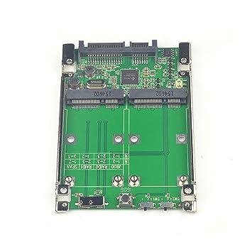 Huimai 2.5 Dual PCIe pci PCI-E pci Express pci-Express mSATA ...