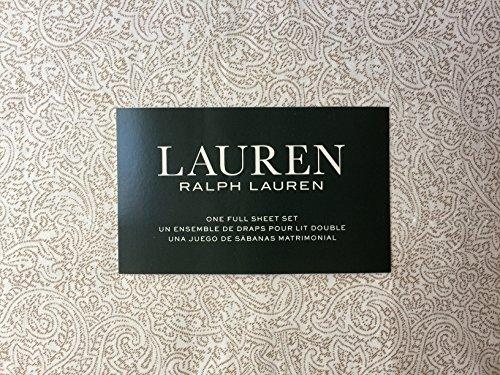 tan beige paisley cotton sheet