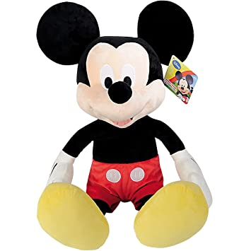 XXL Mickey Mouse Peluche 80 cm – XXL Disney Mickey Mouse Club House Peluche Mickey Mouse