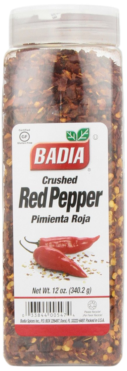 Badia Spices inc Spice, Crush Red Pepper, 12 Ounce (Pack of 6)