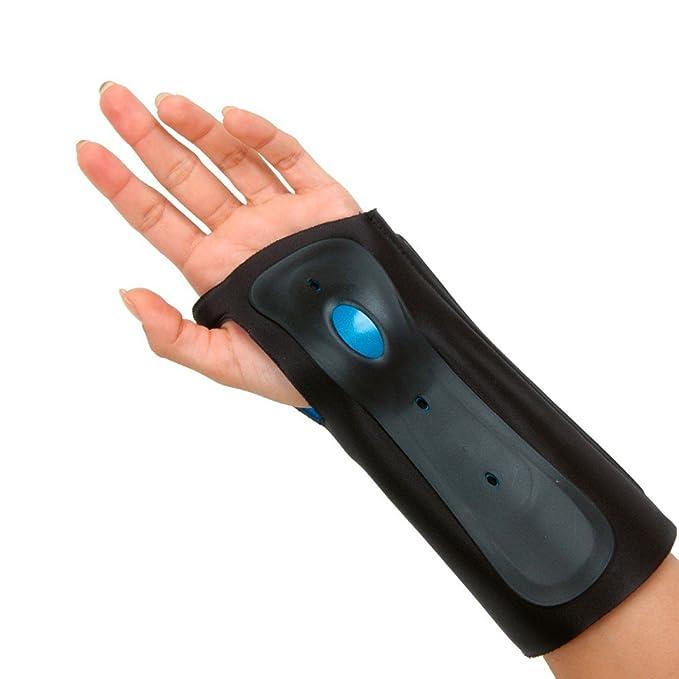 Left, Large Ergonomic Precision Extremely Comfortable Contoured Padding Highest Degree of Durability and Immobilization Ossur Exoform Wrist Brace