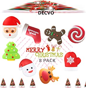 DECVO Cable Protector Compatible with iPhone iPad Android Sumsung Galaxy Cable PVC Christmas Cute Phone Accessory USB Charger Data Protection 8 Pack Cover Chewers Earphone Cord Bites (8 Pack)
