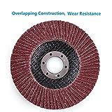 4.5 Inch Sanding Flap Discs - 40 60 80 120 Grit