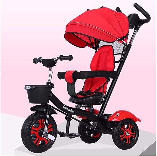 JYY Triciclo de bebé para 1 año Triciclo para niños Adecuado para ...