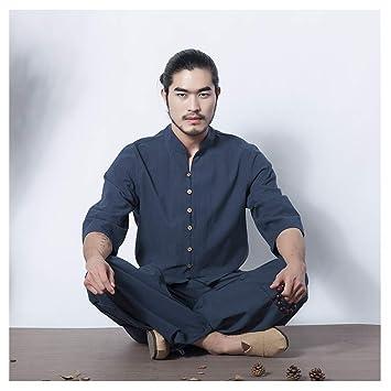 Mr. Long Tai Chi Yoga Uniforme de Lino Meditación Tai Chi ...